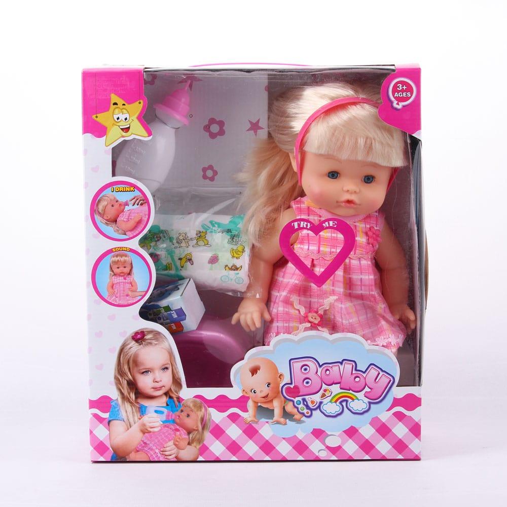 عروسک  بیبی با کیت نوزاد