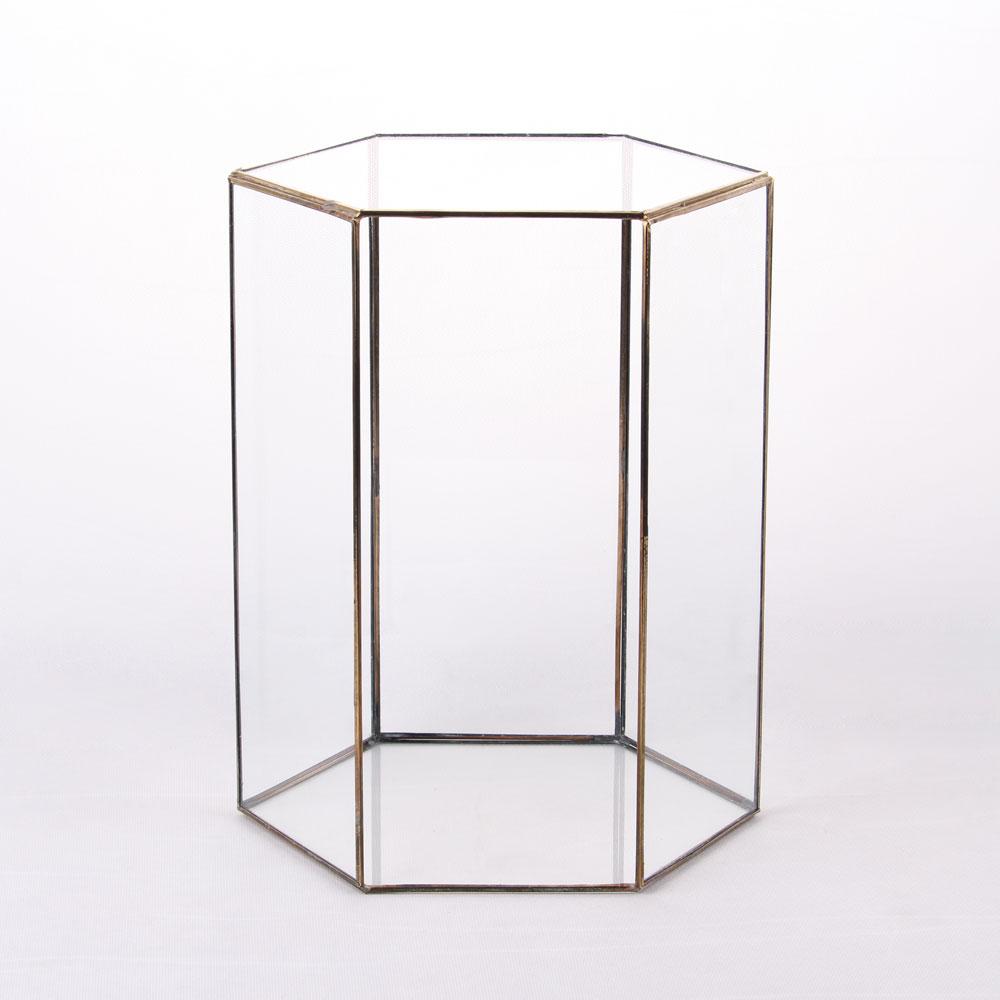 باکس شیشه ای ( کد 9420) طلایی